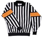CCM Pro Referee Jersey w/ Sewn-On Orange Armbands