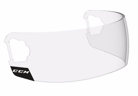 CCM VISOR STRAIGHT SHORT With Fast-Clip