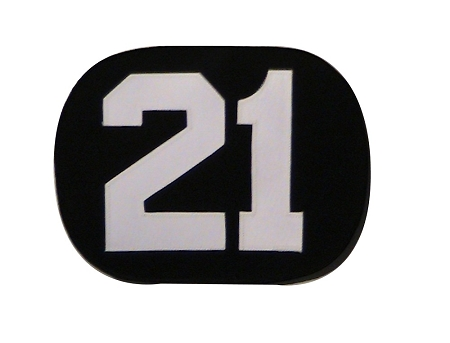 Number Plate for Jersey