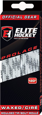 Elite Prolace WAXED Molded Tip Hockey Lace