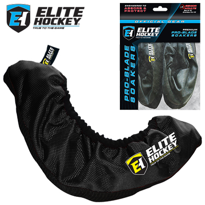 Elite Hockey Pro Blade Soakers (Black)